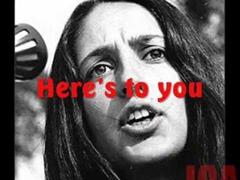 JOAN BAEZ  here's to you.wmv