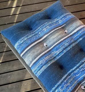 Using rag rug as upholstery