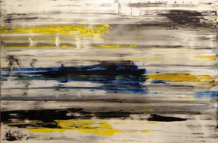 bez tyt. - Malarstwo,  150x100x5 cm ©2014 przez Piotr Krajewski -                                                            Ekspresjonizm abstrakcyjny, Płótno, Sztuka abstrakcyjna,