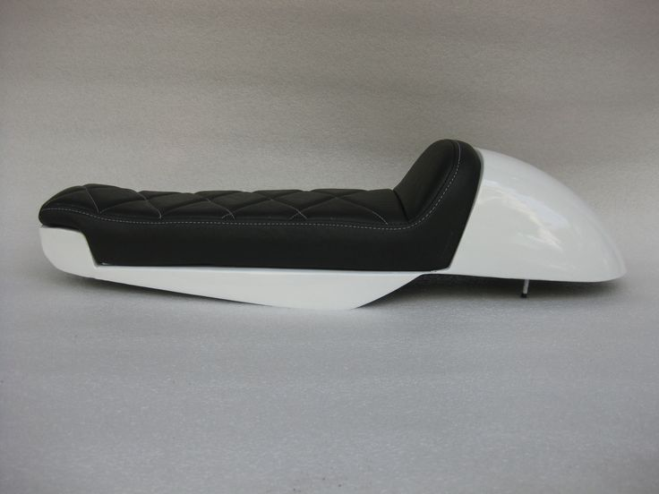 Motorcycle Seats Direct - Honda CX500 Deluxe Standard modified seat pan with metal cowl