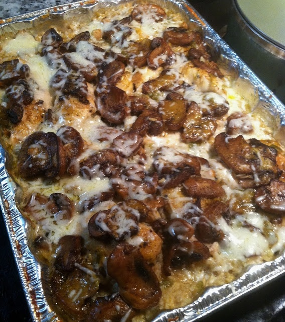 Twirl and Taste: My Favorite New Chicken Dish of 2012 was FAIR OAKS CHICKEN - with sauteed mushrooms, rice, and cheese!