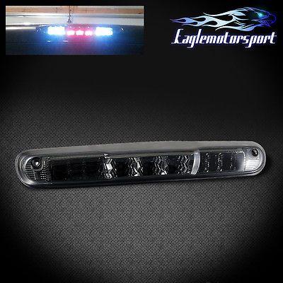 [LED Smoke] 2007-2013 Chevy Silverado 1500/2500/3500 Chrome 3rd Brake Light New