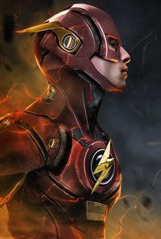 talvez essa seja a armadura do Flash no filme da liga da justiça