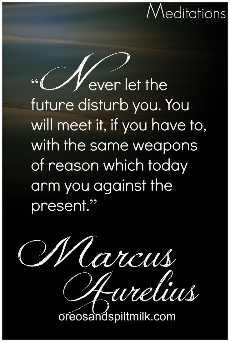Meditations- Stoicism - Marcus Aurelius