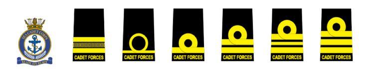 Cadet Forces Officer Ranks