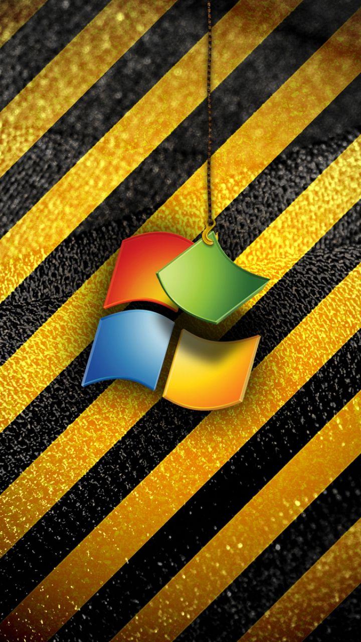720x1280 Wallpaper windows, operating system, emblem, logo, color