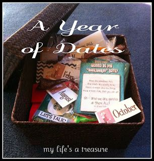 My Life's a Treasure: A Year of Dates - The Ultimate Date Night Gift