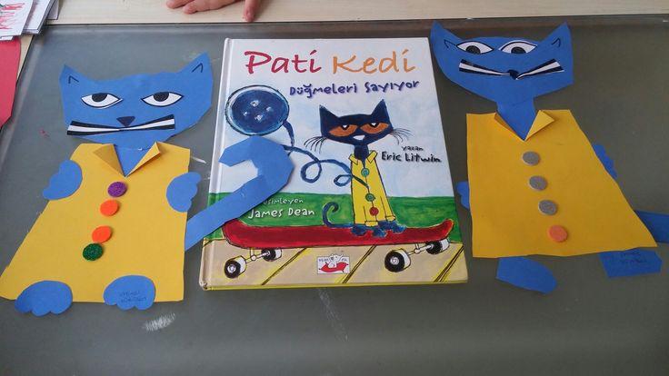 Pati kedi. Okulöncesi etkinlikleri.