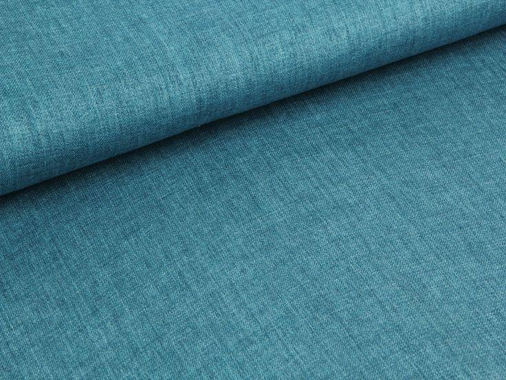 Jeansleinen - blau