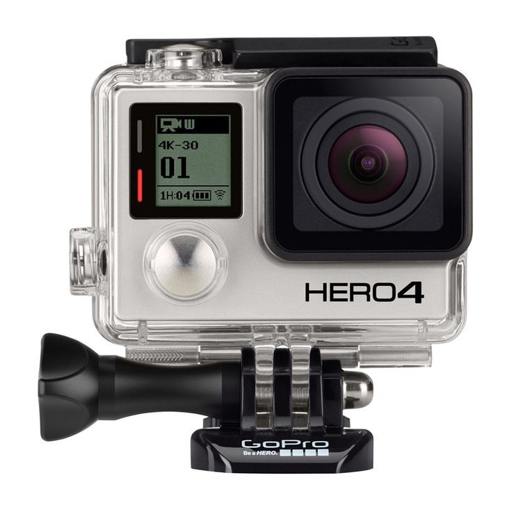 GoPro Cameras - GoPro Gopro Hero 4 Black Edition Surf Camera - Black