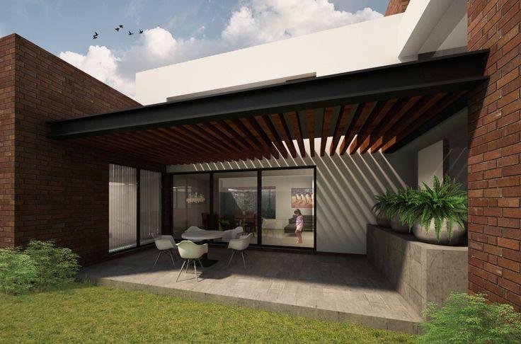 Detalle terraza Casa Serena | Dionne Arquitectos