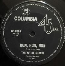 RUN, RUN, RUN / ALL FALL DOWN | FLYING CIRCUS | 7 inch single | Music 4 Collectors