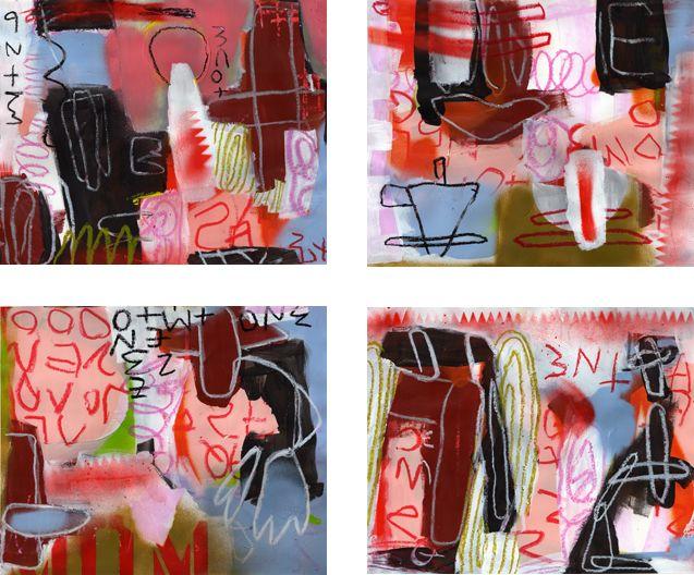 Interlocks Spray Painting
