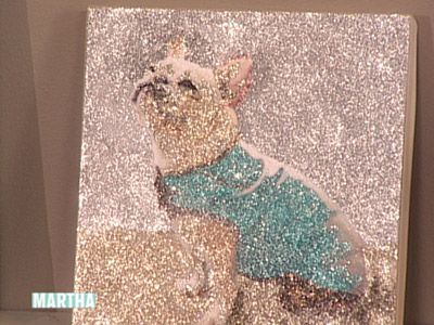 Glitter Painting Videos | Crafts How to's and ideas | Martha Stewart