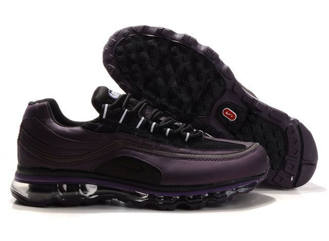 online retailer aff31 60071 Mens Nike Air Max 24-7 Shoes Dark Purple Black 3877354