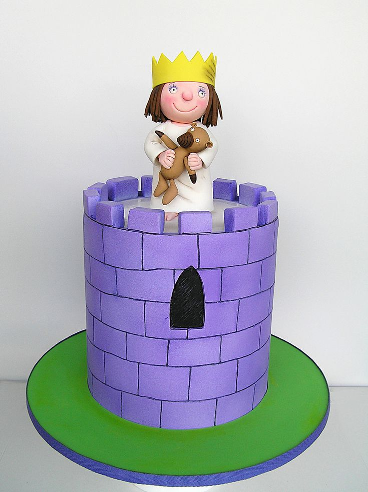 Little princess by sweet disposition cakes castle cakes for Little princess castle