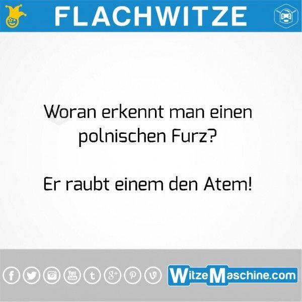 Flachwitze #256 - Woran erkennt man einen polnischen Furz? - Polenwitze