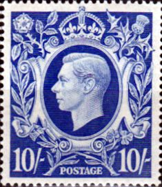 Great Britain 1939 King George VI Fine Mint SG 478a Scott 251aA Other British Commonwealth Stamps HERE!