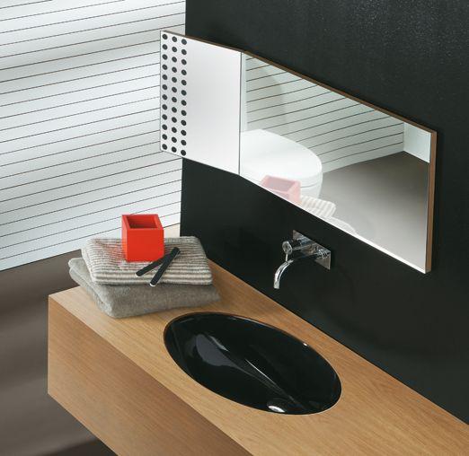 LFT spazio di @ceramicasimas, #lavabo ad incasso dalle forme essenziali e moderne - www.gasparinionline.it #furniture #moderndesign #madeinitaly #casa #bagno #weloveit #design