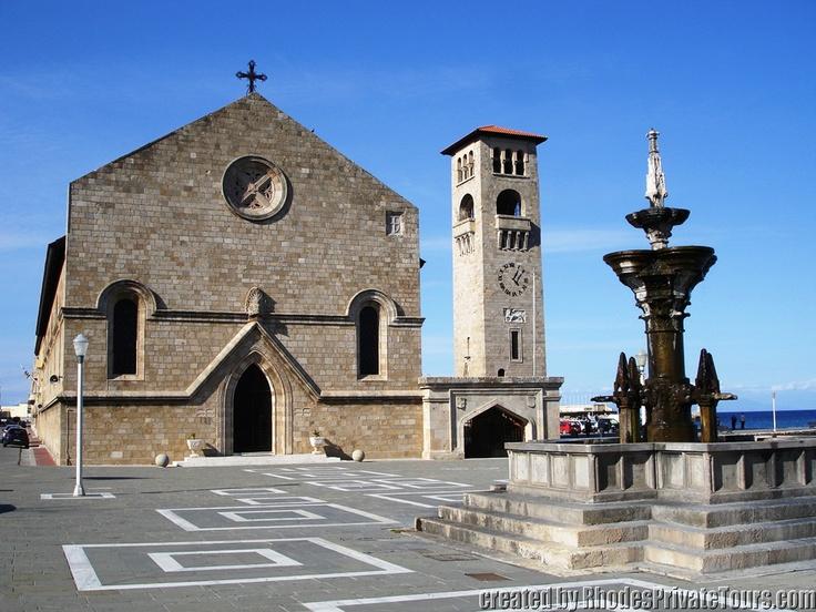 Rhodes Island Greece -  The church of the Annunciation