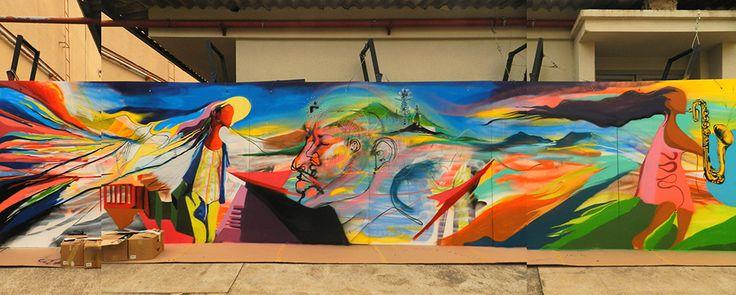 Sexto Encontro de Saxofonistas Conservatório de Tatuí 2014 #Dedablio #Artcontemporain #art #arte  #gesture #gestualism #contemporainpeniture #illustration #peinture #artecontemporanea #design #symbology #pinturacontemporanea #painter #kunst #gestalt #expirience #design #pintura #arte #spray #mtn #conservatório #modernart #poetry #contemporaryart #fineart #DiegoDedablio #Hedendaagsekunst #zeitgenössischekunst #modernart #graffitiBrasil #saxofones #streetart #Tatuí #målning #SãoPaulo #musica…