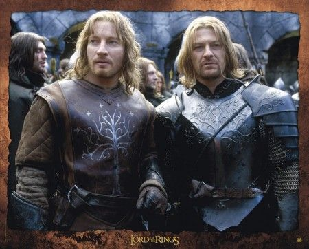 Le seigneur des anneaux - Faramir et Boromir