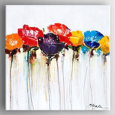 【今だけ送料無料】現代アートなモダン キャンバスアート 絵 壁 壁掛け 油絵の特大抽象画1枚で1セット お花 カラフル 花びら 春【納期】お取り寄せ2~3週間前後で発送予定