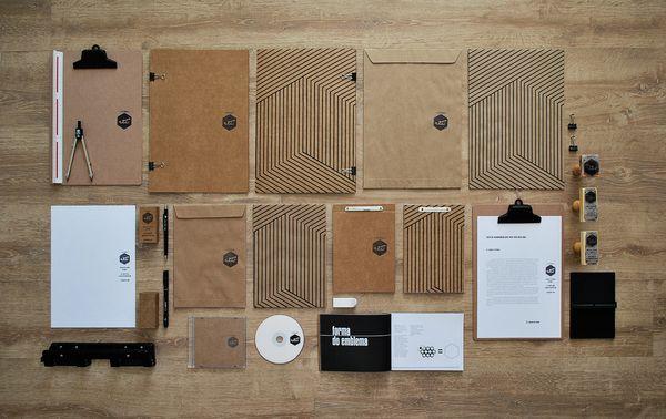 Identidade Visual para o Estúdio Vii by Eduardo dos Santos, via Behance