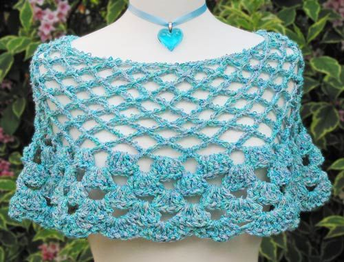 Crochet Pattern Central - Free Poncho Crochet Pattern Link Directory