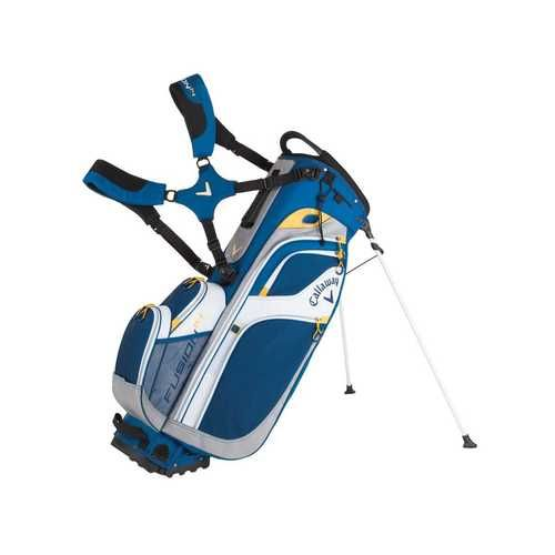 Callaway Golf 2016 Fusion 14 Stand Bag (Navy/White/Gold)