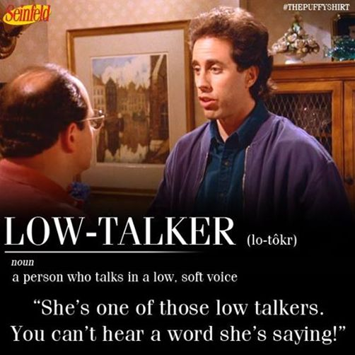 Seinfeld - Jerry & The Low-Talker