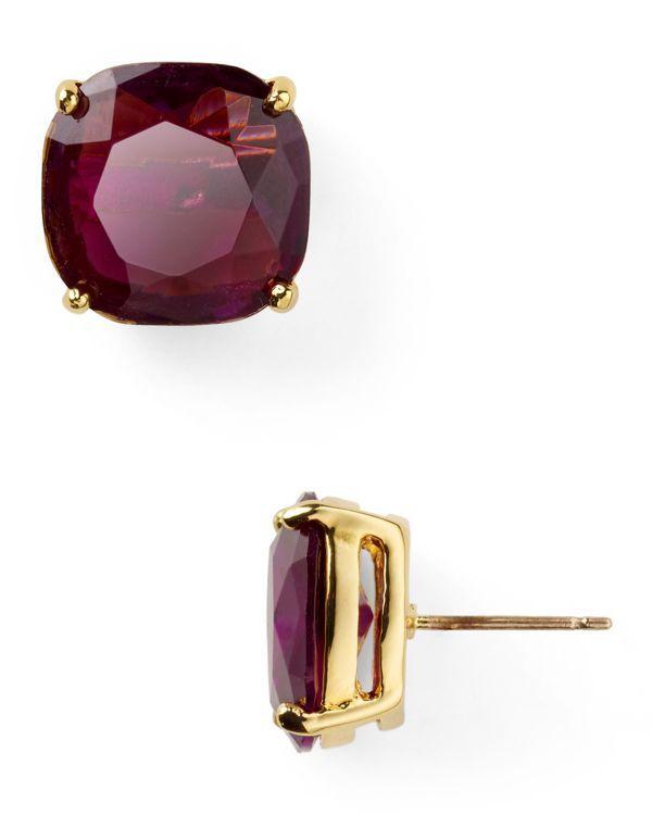 kate spade new york Small Square Stud Earrings | Bloomingdale's