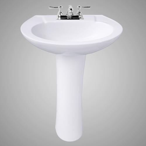Solon 200 Vitreous China Pedestal Sink Pedestal Sink Sink Pedestal