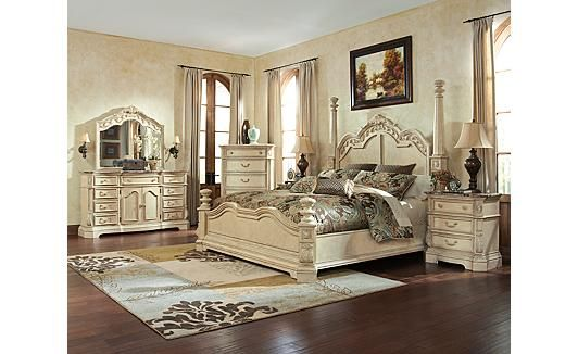 Ortanique Poster Bedroom Set By Ashley Old World Pinterest