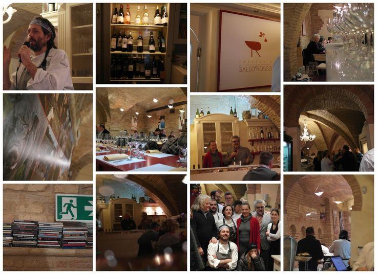 Wine Blog Roll - Il Blog del Vino in Italia: Metti, una sera a cena Cristiano Tomei ed il Vino marchigiano al Gallo Rosso di Filottrano