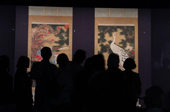 "TAR at ""Jukaku and Buson"", Hakone Okada Art Museum"