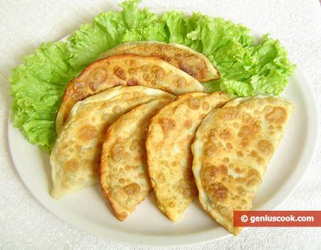 Easy chebureki recipe