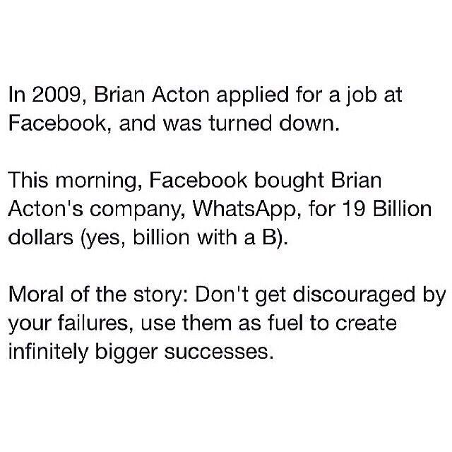 Brian Acton's WhatsApp & Facebook (20/02/2014)