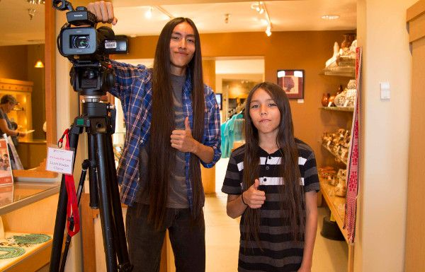 This One Time, at Film Camp: Native Youth Learn Movie Making From Pros in Santa Fe