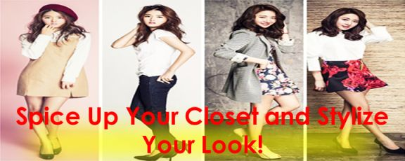 Spice Up Your #Closet and #Stylize Your #Look!