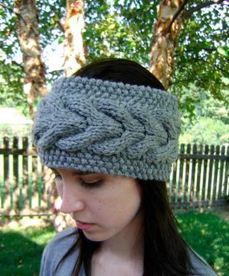 17 Best images about ?? headband earwarmer crochet & knit on Pinterest ...