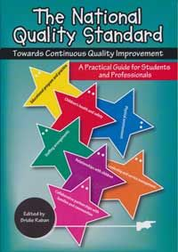 By Bridie Raban  This book assists early childhood educators, in whatever service or setting, to meet the requirements of the National Quality Standard. It provides a background to the National Quality Framework, discusses the development of a QIP, including identifying strengths and determining quality improvement, and looks closely at the assessment and rating process, and how services can prepare for this and work towards developing the best possible service for their communities…