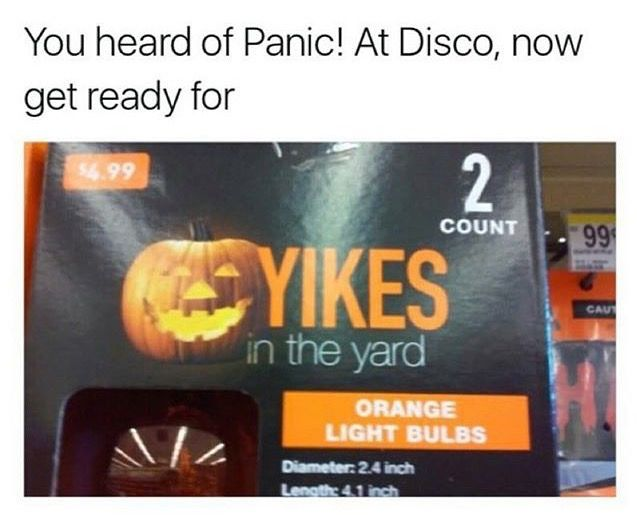 Panic! At the Disco and Yikes! In the Yard