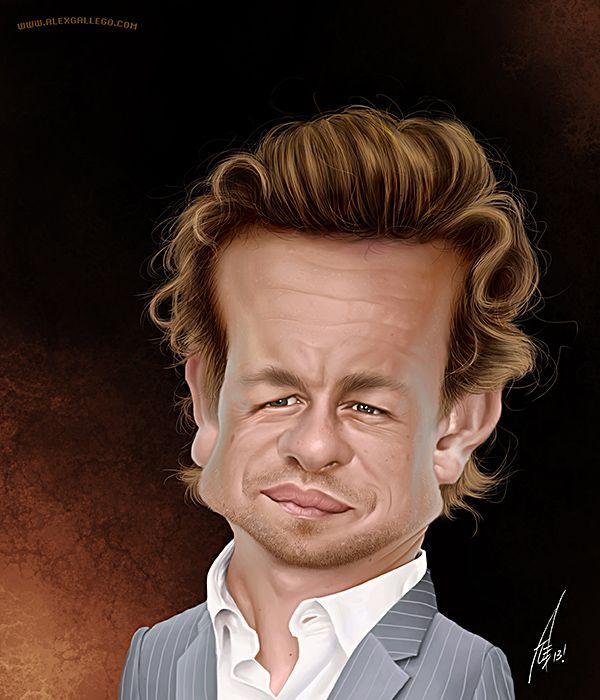 #TheMentalist #SimonBaker by www.alexgallego.com