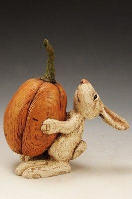 American Chestnut Carvings :: The Great Pumpkin :: Peter Bretz Americana Carvings
