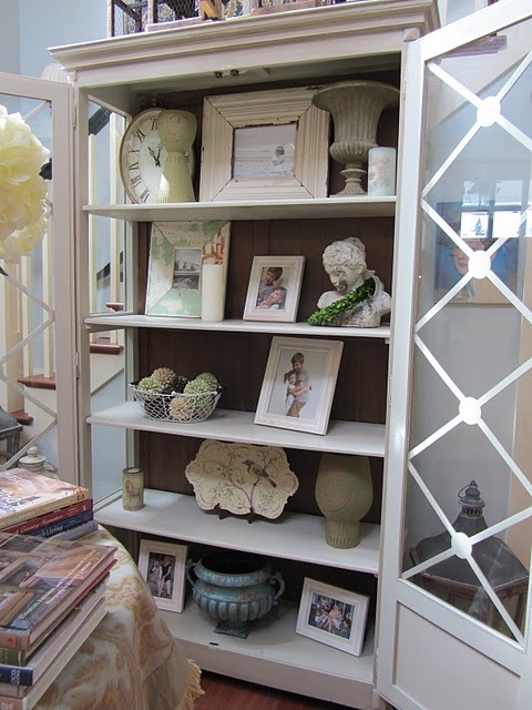 Foyer Display Shelves