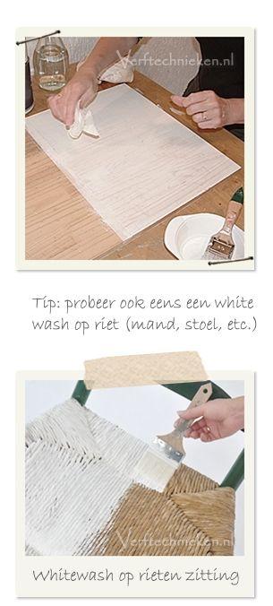 Whitewash met Abbondanza krijtverf