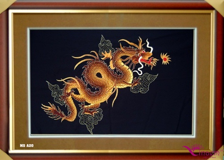 VIetnam hand Art embroidery  Picture- a20