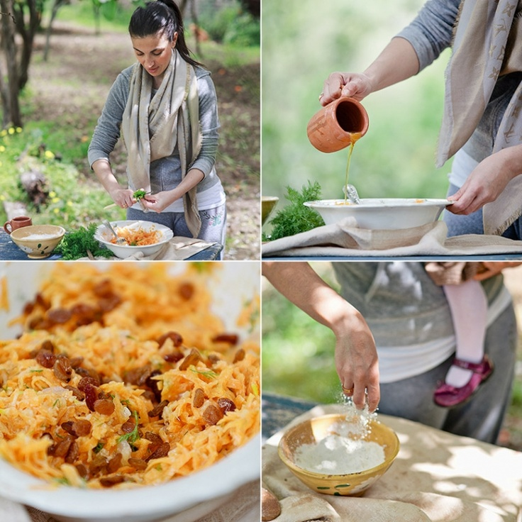 "Maria's cooking lessons at the old watermill  ""The Organic Table"": An experience to remember"