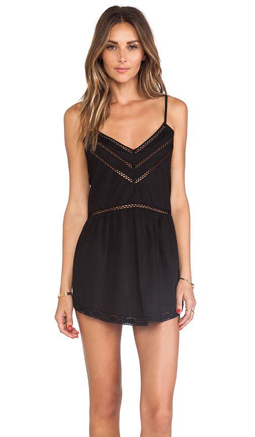 Tularosa London Slip Dress in Black